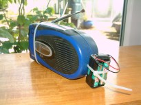 Solar, wind-up radio mended again!