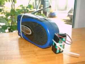 Solar, wind-up radio in its latest incarnation... still going strong