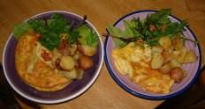 Omelette for tea!