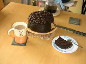 Brooklyn Blackout Cake - too fiddly to make every day!