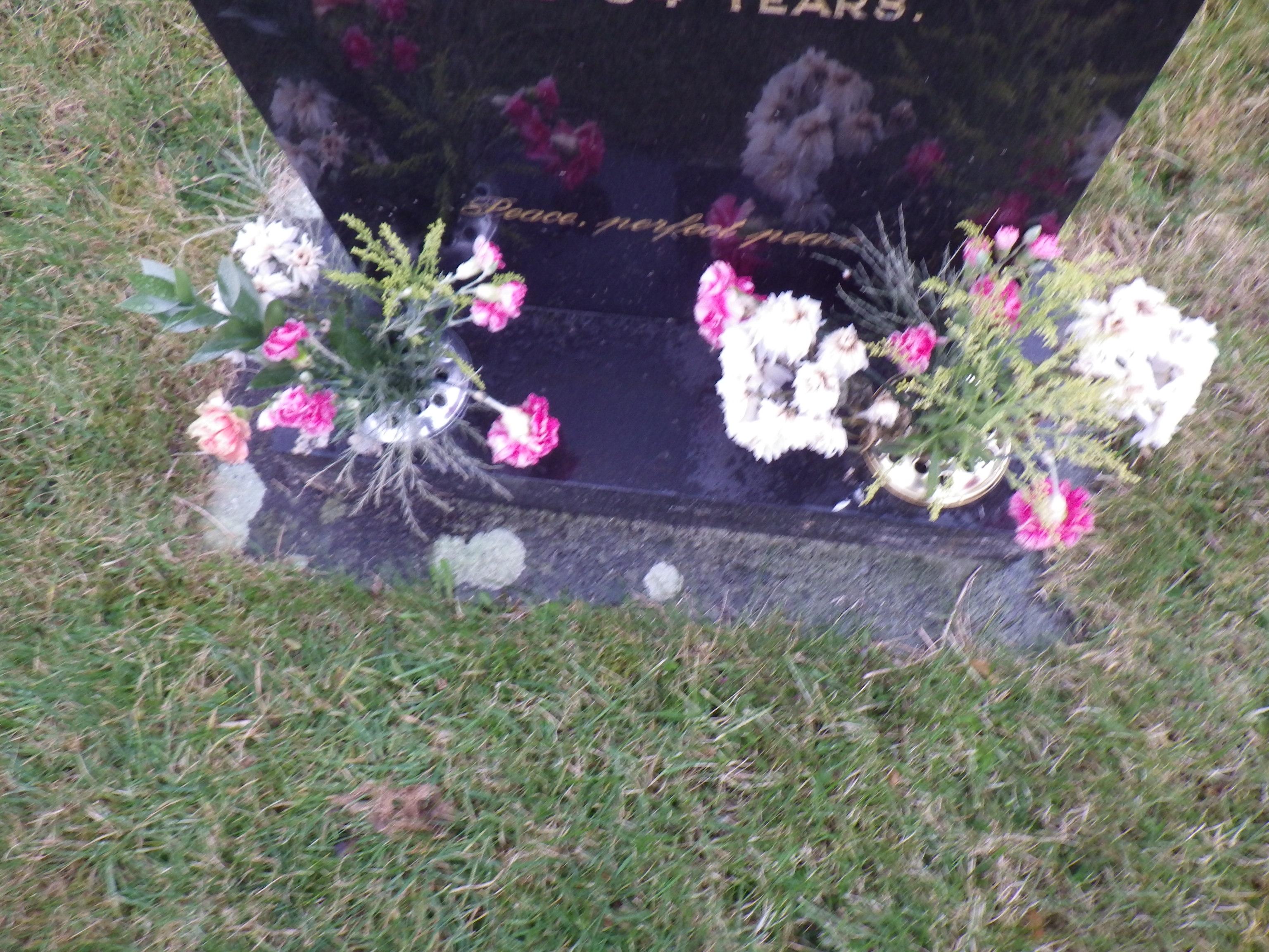 Paula Yates Grave