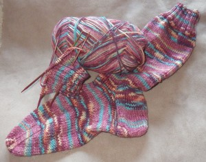 A sock too far - no more knitting for nothing, it's my business