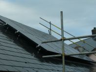 PV panels fitted by a local company