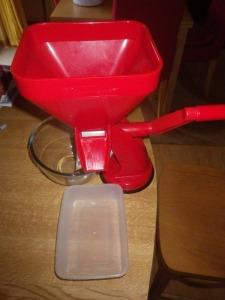 My tomato mill