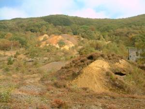 The same spoil heaps 20 years later
