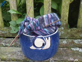The happy snail yarn bowl