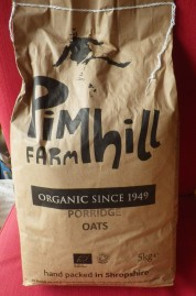 Buying in bulk and in paper packaging. We'll probably store potatoes in the bag once the oats are eaten.