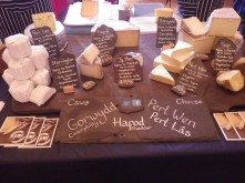 Local cheese from Simply Caws - mileage specified
