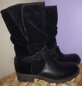 New boots - I hope they last!