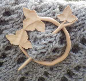 Artis Ignis shawl pin - designed for me