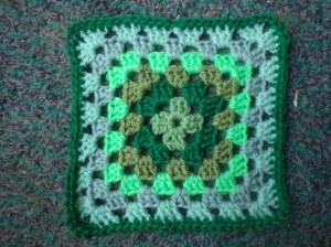 A meditation square