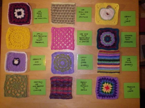 The twelve principles in wool