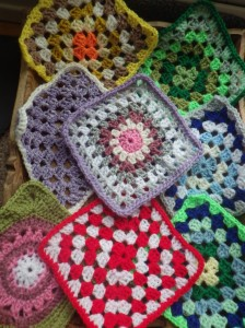 Flower and meditation squares