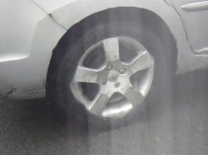 The offending wheel