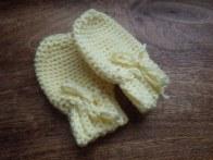 New mittens from scrap yarn