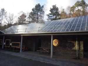 A really large-scale solar array