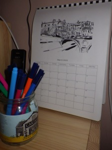 My new old calendar
