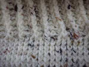 Detail of the start of the brim