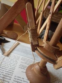 Splint in place to repair my swift