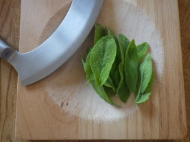 Sage from the garden