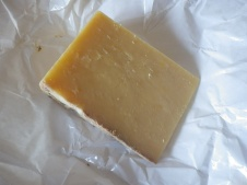 Delicious Hafod cheese