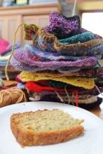 Cake and crochet