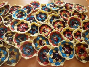 Katy's hexagons