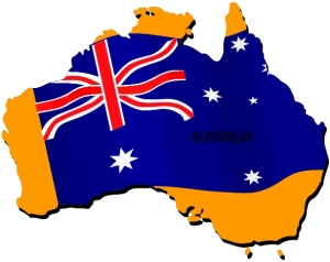 Australia... Tasmania has clearly gone on its travels!