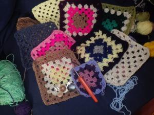 I've made a few more squares