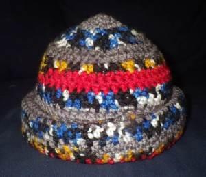 Mr Snail's new hat