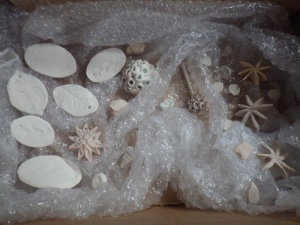 Packed up and ready to be taken to be fired