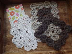 Cosy squares and vintage crochet