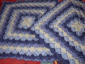 Bavarian cushion nearly finished