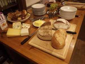 An evening spread