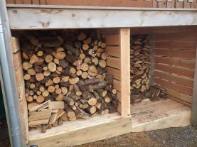 What's in the woodstore?