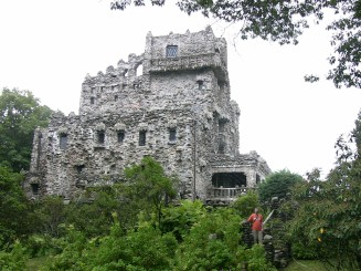 Mr Gillette's amazing 'castle'... in Connecticut when we were there