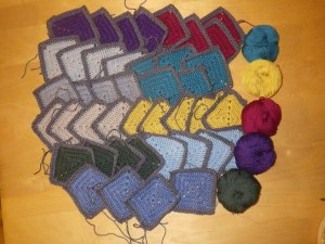 Beautiful squares from Jenny at Simply Hooked
