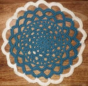 Too pretty for a dishcloth?