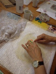 Adding sequins