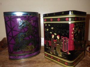 New tea tins