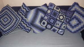 crochet cushion covers