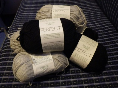 Local wool, bought in Norway