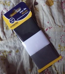 Iron-on mending tape