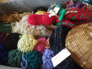 A treasure trove of crochet goodies