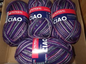 Lovely new yarn
