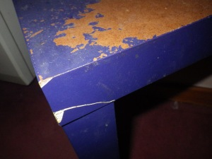 A well-used table