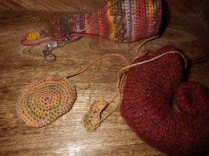 Making a crochet snailvaark