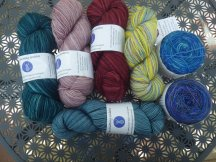 All the unknitted KG yarn