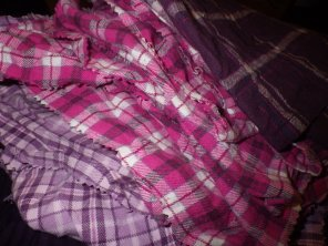 A big pile of cleaning cloths
